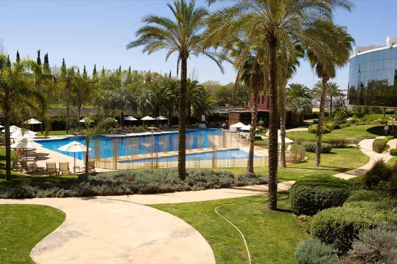 Cuidado y mantenimiento de jardines babilonia Hotel jardines de babilonia